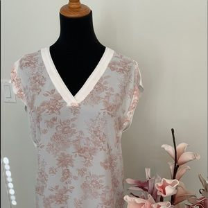 Camber & Grace mixed media top size M